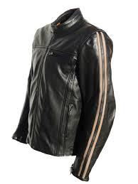 jts legion retro leather motorcycle jacket