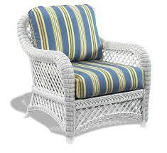 white wicker chair. White Wicker Chair