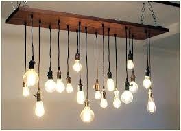 full size of real simple 9 light edison bulb led multi pendant 8 black 6 fixtures