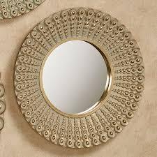 colors round metal wall art decor plus kohls circle mirror metal