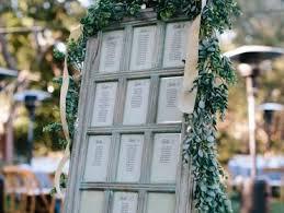Weathered Window Pane Seating Chart Monterey Wedding Planner