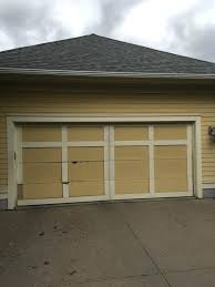 manually open garage door decoration broken spring how to from