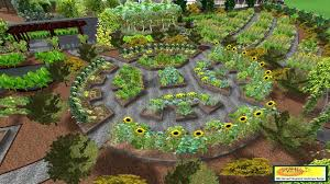 Small Picture in permaculture garden design emphasizes patterns of landscape