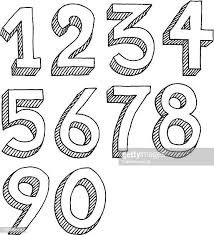 60点の数字の2のイラスト素材クリップアート素材マンガ素材