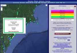 Avalon Tide Chart 2014 New Jersey Based Flood Advisory System Sends Free Alerts On