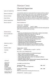 Electrician Resume Examples Custom Electrical Resume Sample Electrician Resume Sample Resume Sample