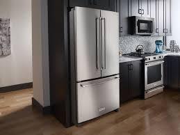 french door refrigerator in kitchen. Standard Depth French Door Refrigerator Kitchen Appliance Mountain High In O