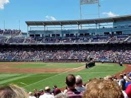 Ameritrade Park Seating Chart Td Ameritrade Park Section 122 Home Of Creighton Bluejays