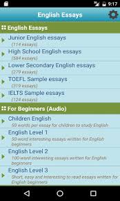 english essays apk for android getjar english essays screenshot 1 6