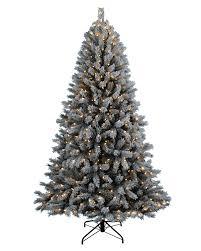 Flocked Christmas Tree Frosty Flocked Christmas Tree Treetopia