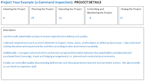 a key way to document your military project management experience    figure