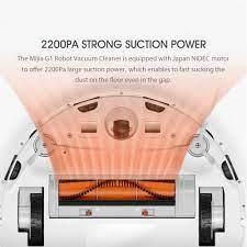 Máy Hút Bụi Xiaomi G1 Robot 2200Pa 2500mAh 100-240V - Hàng Nhập Khẩu Chính  Hãng   Mistore