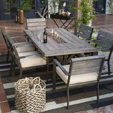 Image of: Fire Pit Dining Tables Sets