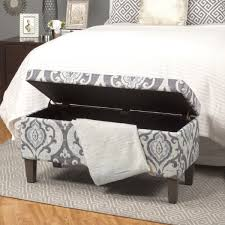 Ottoman Bedroom Storage Simone Upholstered Storage Ottoman Reviews Joss Main