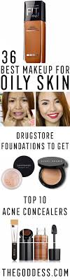 best makeup for oily skin some of the best foundation powder concealer