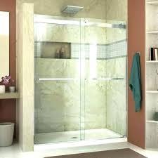 shower glass cost glass shower door installation cost frameless