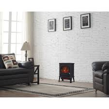 chimneyfree electric infrared quartz stove heater 5 200 btu black metal by unbranded for homeware in australia