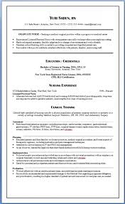 Permalink to New Graduate Nurse Resume Clinical Experience