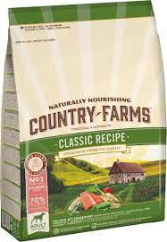 <b>Корм сухой Country Farms</b> Классический, полнорационный, для ...
