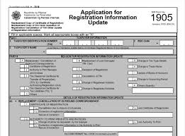 Employee Change Form Mesmerizing From Employee To Selfemployed BIR Update Hints For Life