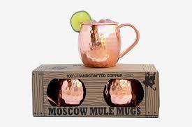 morken barware moscow mule mugs set of 2