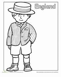 Have fun learning about france with these printable coloring pages for kids of all ages to learn about this amazing country known for the eiffel tower. Multicultural Coloring England Worksheet Education Com Traditional Outfits Kids Around The World Around The World Theme