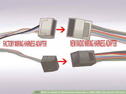 how to install an aftermarket radio into a 1996 1998 jeep grand cherokee 2001 jeep grand cherokee trailer wiring harness image titled install an aftermarket radio into a 1996 1998 jeep grand cherokee step 10