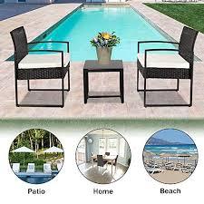 ssline 5 piece patio furniture set