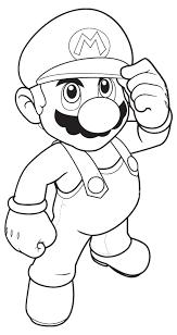 Kleurplaat Mario Bros En Luigi Nintendo 792