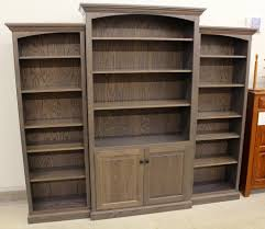 6 1 2 deluxe traditional 3 piece bookcase wall unit 83 1