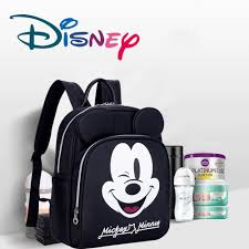 <b>Authentic Disney Mickey Minnie</b> Mommy Diaper Bags Mother Large ...