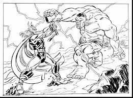 outstanding marvel avengers coloring pages with thor coloring ...