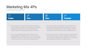 4 P S Of Marketing Chart 4ps Of Marketing Mix Ppt For Powerpoint Free Download Now