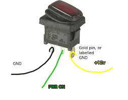 wiring a lighted switch com wiring a lighted switch dc lighted switch wiring diagram dc home wiring diagrams on 12v