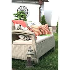 keter corfu loveseat love seat set dark grey patio gray rattan garden furniture anthracite keter corfu