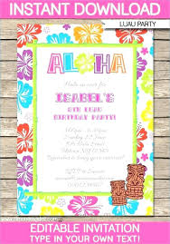 Free Graduation Invitation Templates Blank Party Template 1st