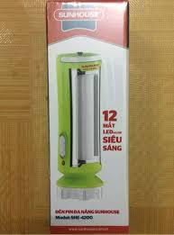 Đèn Pin Tích Điện Đa Năng SUNHOUSE SHE-4200 4M99