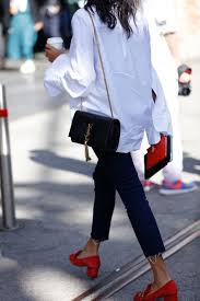 gucci shoes black and white. a great pair of red shoes + classic white men\u0027s shirt dark denim and ysl bag mais gucci black