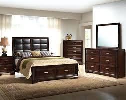 american freight mattress. Espresso Wood Finish Padded Headboard Storage Bedroom Set American Freight Mattress Sale .