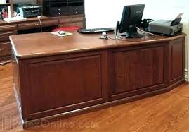 office desk solid wood. Exellent Office Solid Wood Executive Desk Office    To Office Desk Solid Wood L