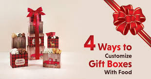 4 ways to customize gift bo with food