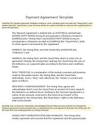 It stipulates how and when the payee will get the designated payment. Payment Agreement Template Assignment Law Virtue
