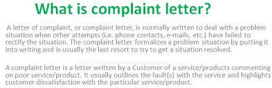 what is complaint letter in business communication  business communication · what is complaint letter