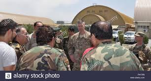 afghan air force mander lt gen abdul wahab hosted a going away lunch june 4 in honor of brig gen christopher craige manding general train
