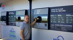 Reverse Vending Machines Stunning Return And Earn Reverse Vending Machine To Open At Byron Bay Hon