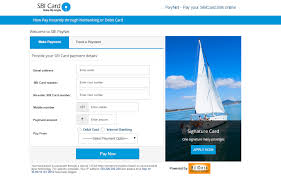 sbi credit card payment state bank of india