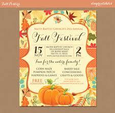Fall Festival Flyers Template Free Fall Festival Flyer Templates Awesome Fall Festival Flyer Templates