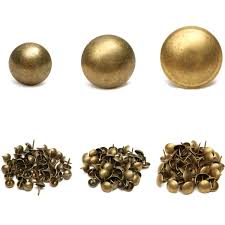 decorative nail heads for furniture. 50/100pcs Antique Upholstery Tacks Brass Nails Furniture Decor Bronze Stud Pins Decorative Nail Heads For K