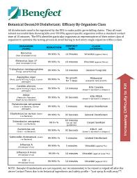 Documents Benefect