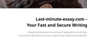 last minute essay reviews reviews of last minute essay com  last minute essay